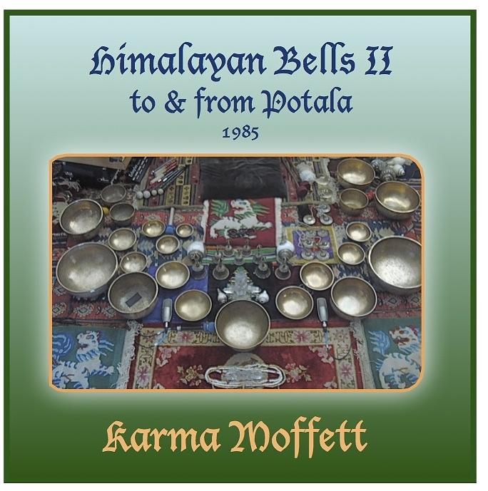 Meditation Digital Art - Himalayan Bells II by Karma Moffett