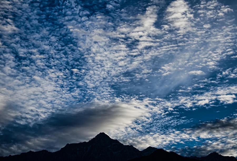 Himalayas Photograph - Himalayan Skies by Don Schwartz