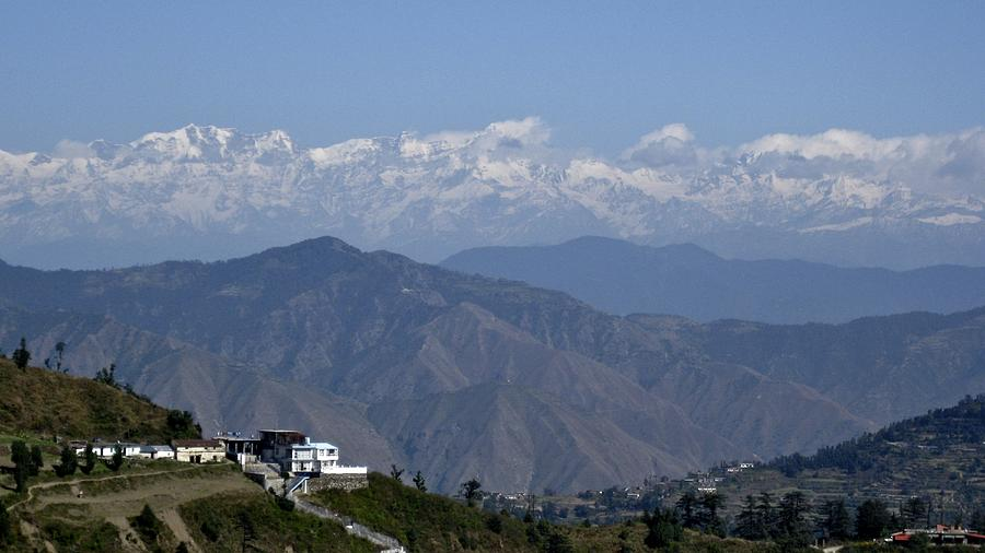 Himalayas I Photograph by Russell Smidt