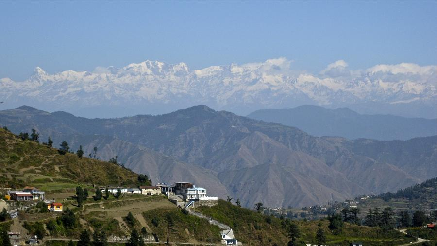 India Photograph - Himalayas II by Russell Smidt
