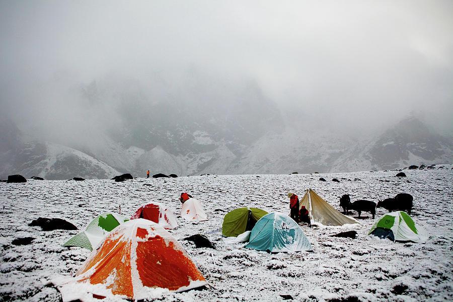Himalayas Tibet 2012 Photograph by Huikanun&liuwei