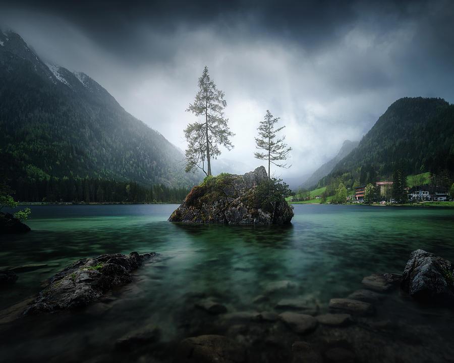 Lake Photograph - Hinterisland by Juan Pablo De