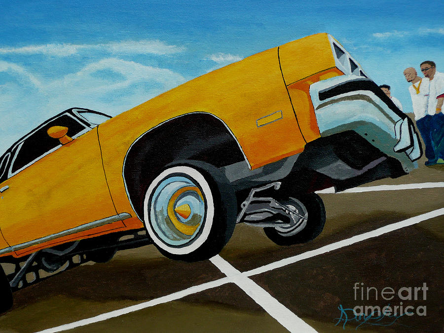 Chevy Painting - Hip Hoppin Chevy by Anthony Dunphy