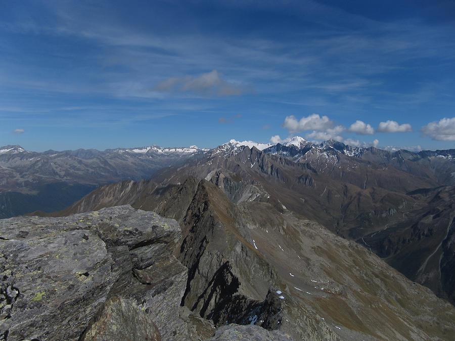 Alps Photograph - Hirbernock Summit by Lorenzo Tonello