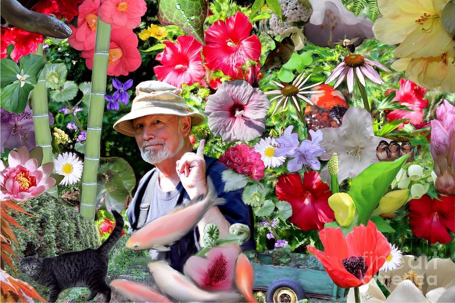 His Photograph - His Garden by Erica Hanel