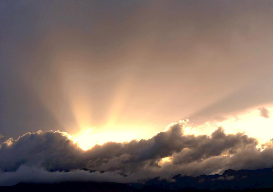 Creation Photograph - His Glory by Dietmar Scherf