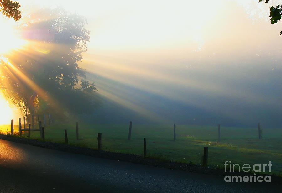 Sunrise Photograph - His Light II by Douglas Stucky