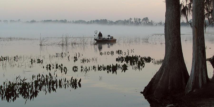 Landscape Photograph - His Time by Peg Urban
