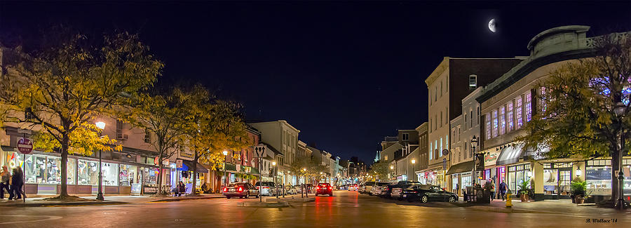 2d Photograph - Historic Annapolis - Pano by Brian Wallace