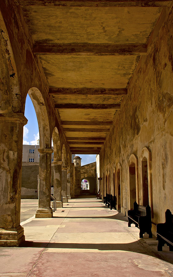 Architecture Photograph - Historic Archways by Kathi Isserman