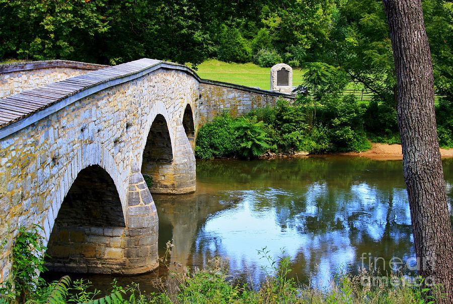 Historic Sites Photograph - Historic Burnside Bridge by Patti Whitten