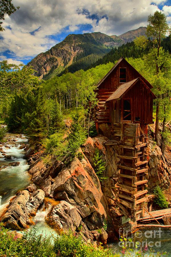 Power Plant Photograph - Historic Colorado by Adam Jewell