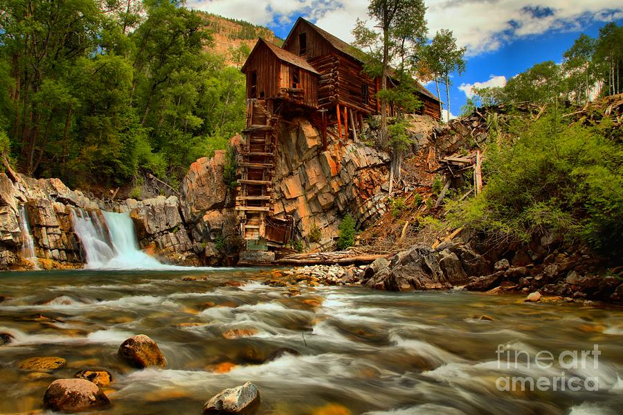 Historic Colorado Landscape Photograph By Adam Jewell