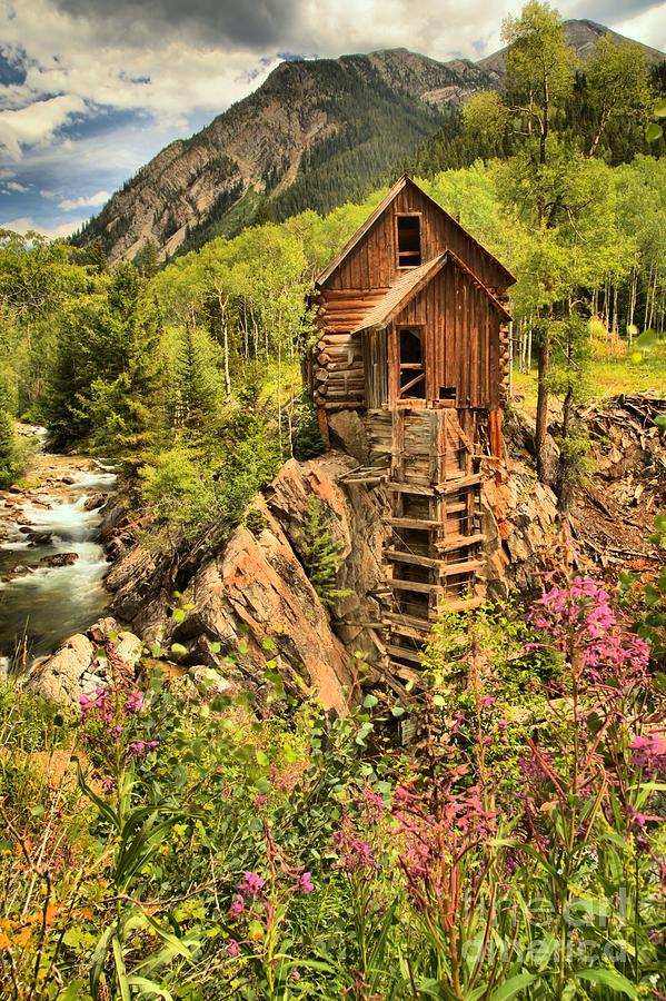 Power Plant Photograph - Historic Crystal Colorado by Adam Jewell