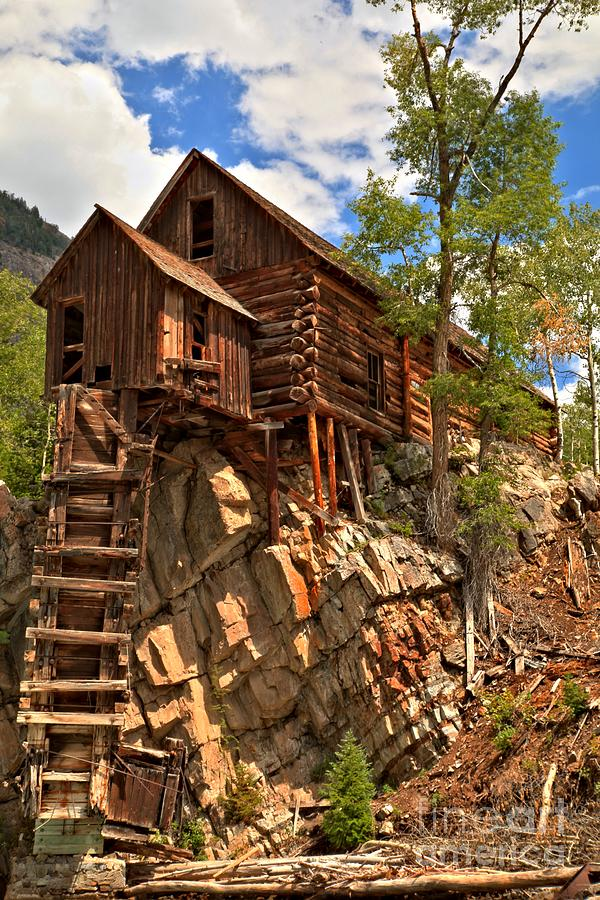 Power Plant Photograph - Historic Crystal Mill by Adam Jewell