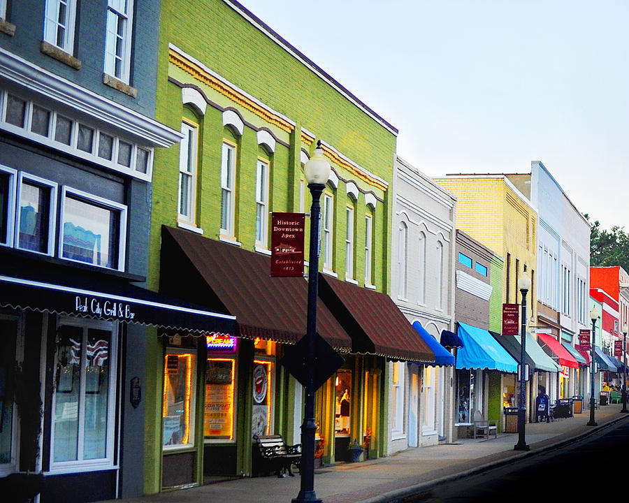 Historic Downtown Apex by Val Stone Creager
