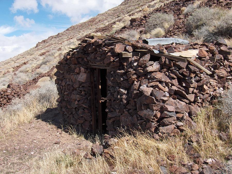 Rock House Photograph - Historic by Jenny Fish