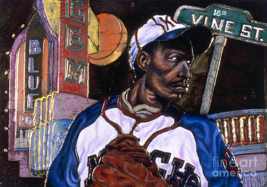 Negro League Baseball Painting - Historic Kansas City by Anthony High