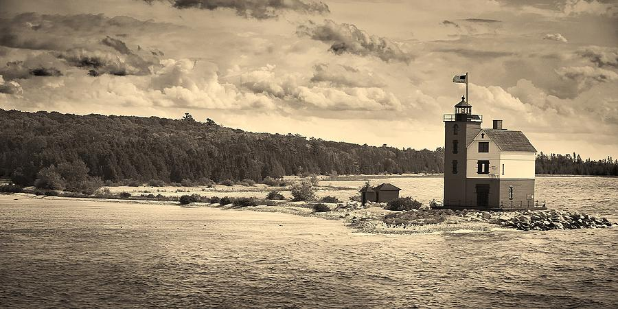 Historic Mackinac Lighthouse by Dylan Lees