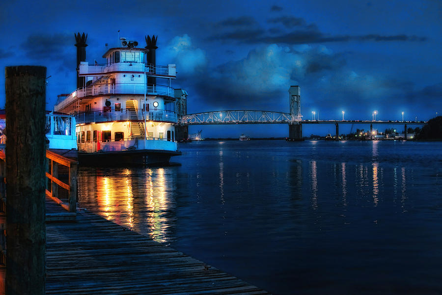 Wilmington Photograph - Historic Riverfront by Rafe Martin