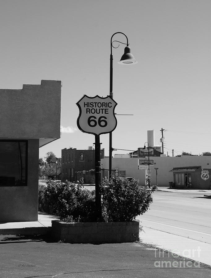 Historic Route 66 Photograph - Historic Route 66 by Mel Steinhauer