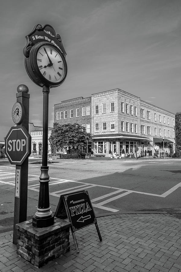 Vertical Photograph - Historic Small Town In South Where by Panoramic Images