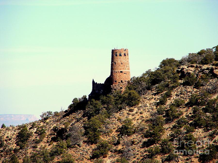 Grand Canyon Photograph - Historic Tower Of Grand Canyon by John Potts