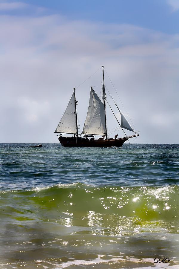 Historical Sailboat Photograph