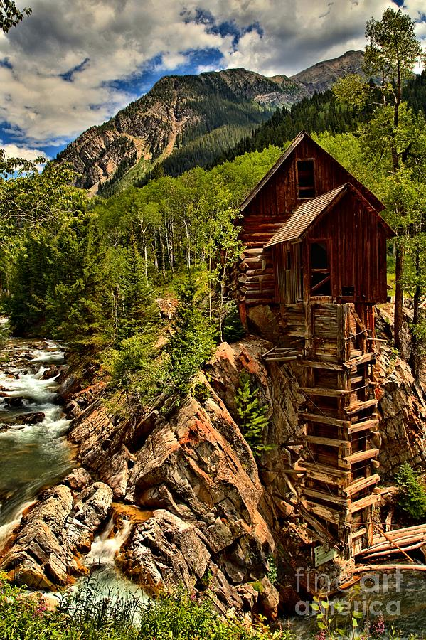 Crystal Colorado Photograph - History In Crystal by Adam Jewell