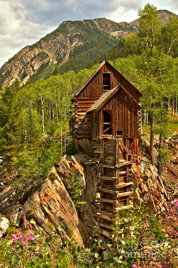 Power Plant Photograph - History In The Mountains by Adam Jewell