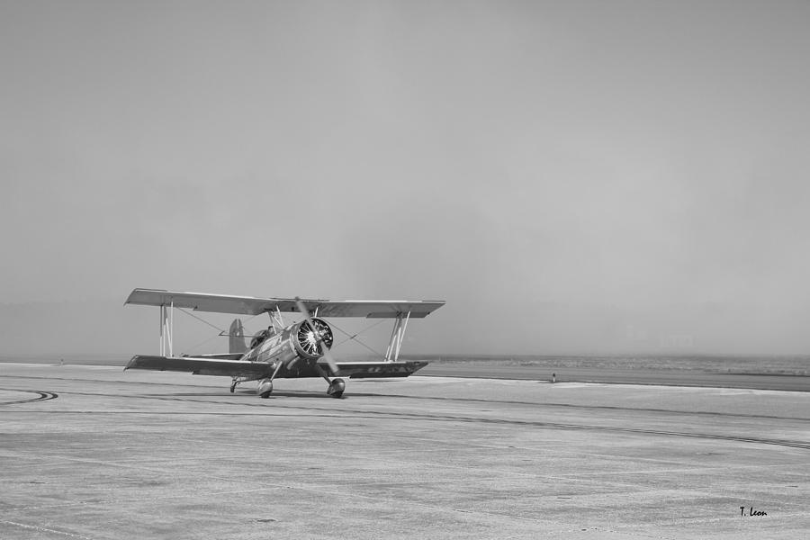 Air Show Photograph - History Meets Showtime by Thomas Leon