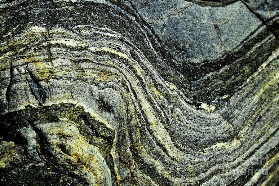 Stone Photograph - History Of Earth 9 by Heiko Koehrer-Wagner