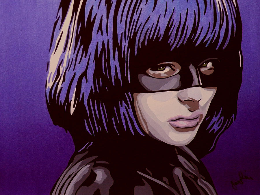 Hit-Girl Painting by Ian King