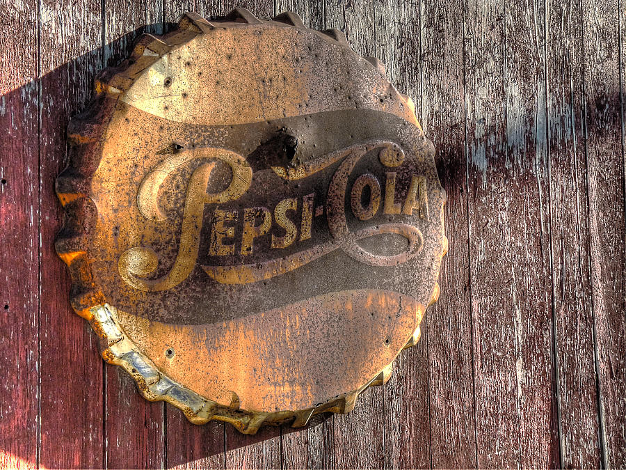 Pepsi Photograph - Hits The Spot by William Fields
