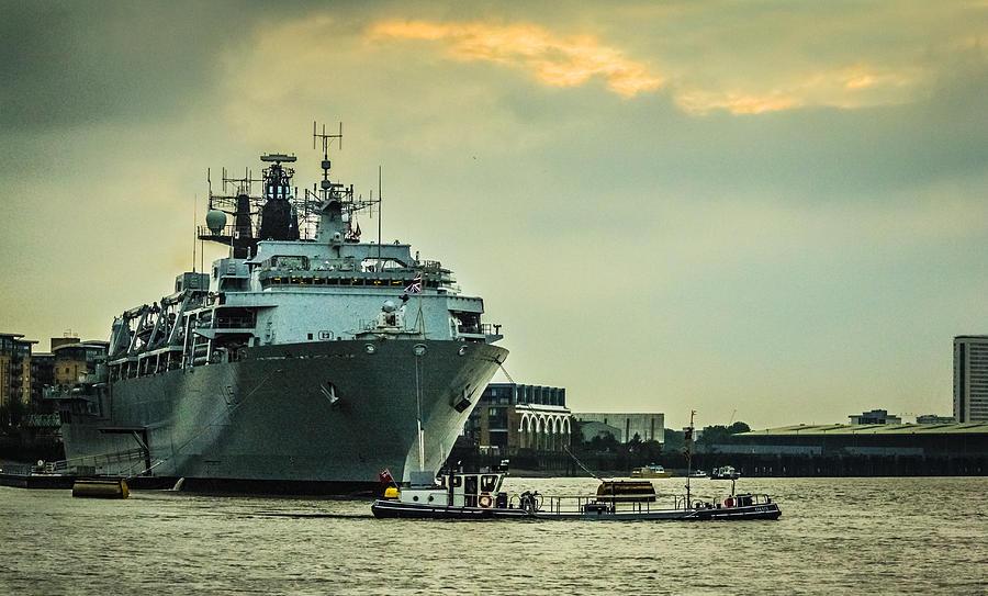 HMS Bulwark by Dawn OConnor