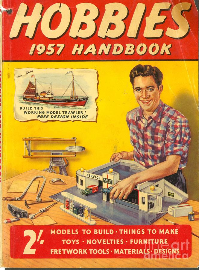 Hobbies 1957 1950s uk diy magazines drawing by the advertising 1950s drawing hobbies 1957 1950s uk diy magazines by the advertising archives solutioingenieria Images