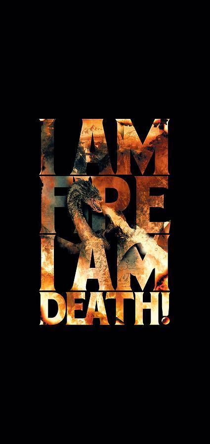 Hobbit - I Am Fire Digital Art by Brand A
