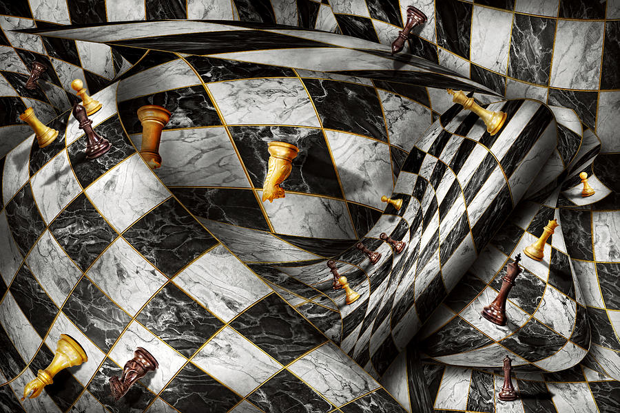 Chess Digital Art - Hobby - Chess - Your Move by Mike Savad