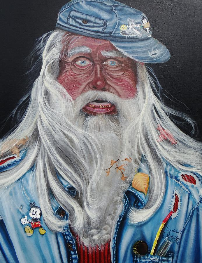 Oil Painting - Hobo by Susan Roberts