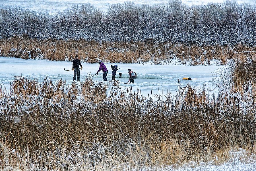 Hockey Photograph - Hockey Joy by Kathy Bassett