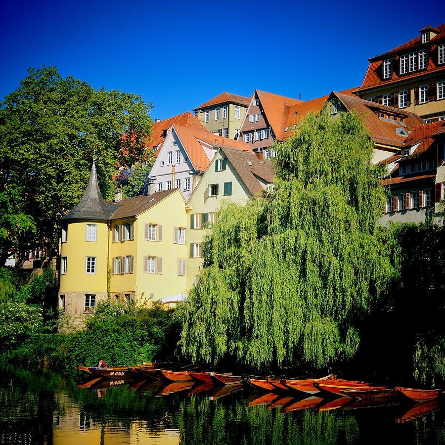 Tuebingen Photograph - Hoelderlin tower in lovely Tuebingen Germany by Matthias Hauser