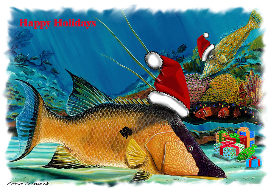 Hogfish card by Steve Ozment