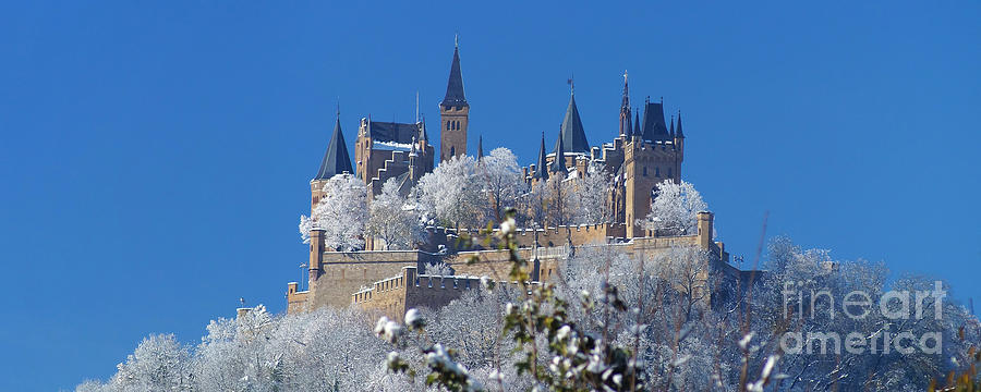 Europe Photograph - Hohenzollern Castle Germany by Rudi Prott