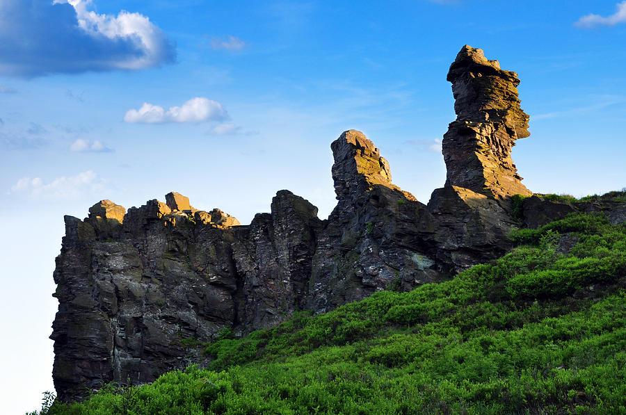 Kraslice Photograph - Hoher Stein Kraslice Czech Republic by Aged Pixel