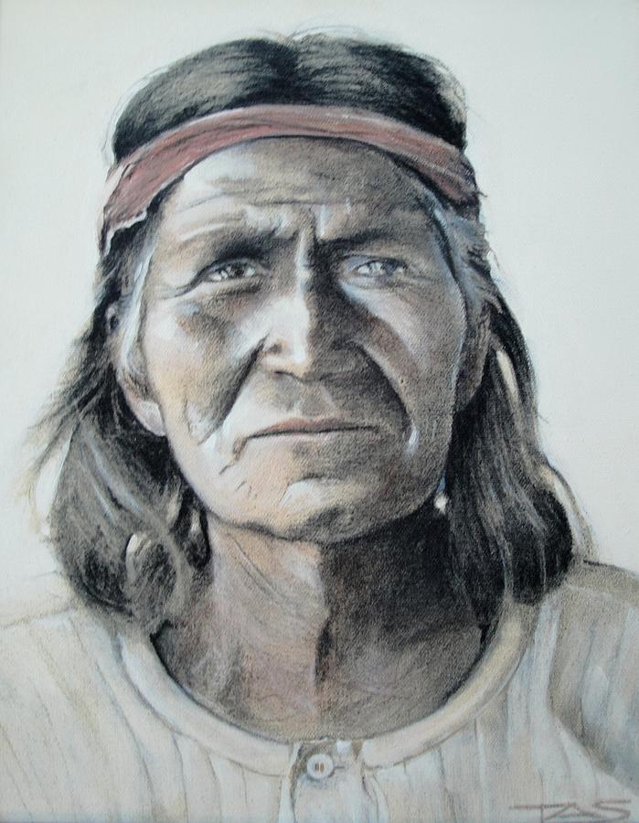 Hopi Painting - Hohoni by Terri Ana Stokes