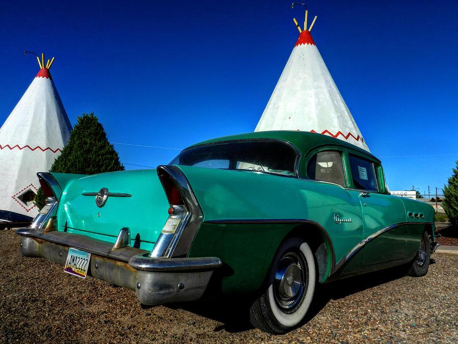 Southwest Photograph - Holbrook Az - Wigwam Motel 008 by Lance Vaughn
