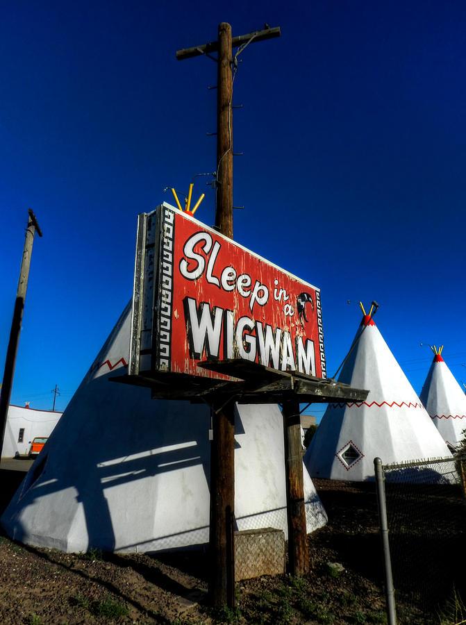 Wigwam Motel Photograph - Holbrook Az - Wigwam Motel 015 by Lance Vaughn