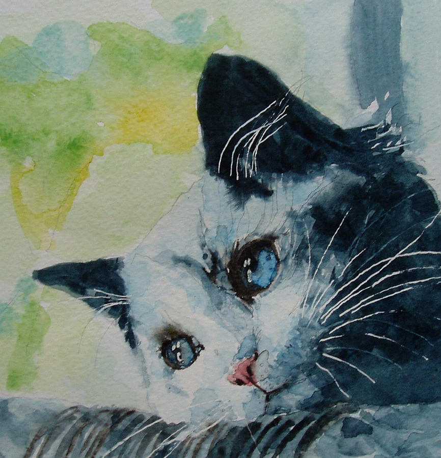 Kittens Painting - Hold Me Closer Tiny Dancer by Paul Lovering