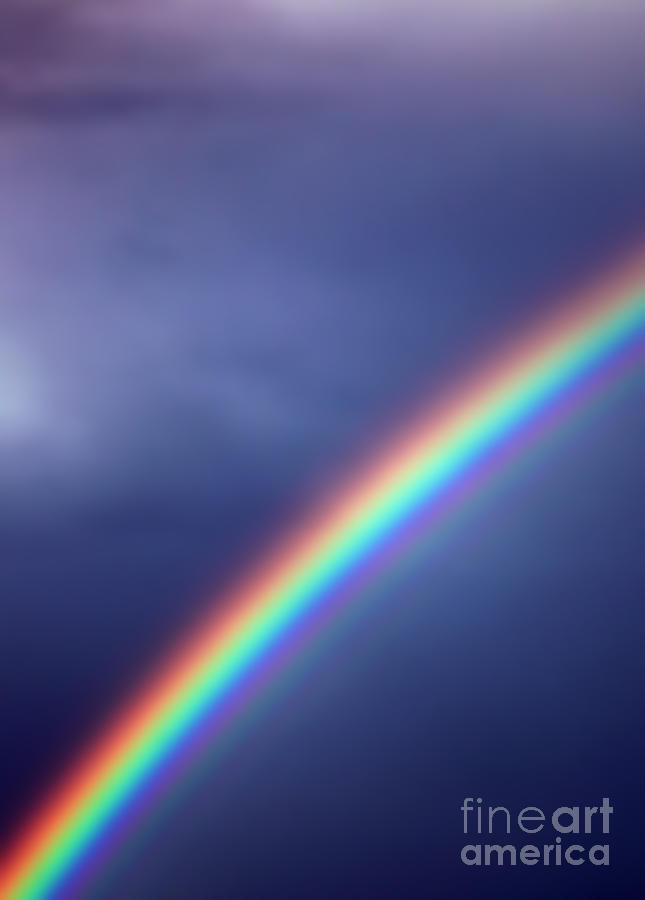 Rainbow Photograph - Hold On For Hope by Amanda Barcon