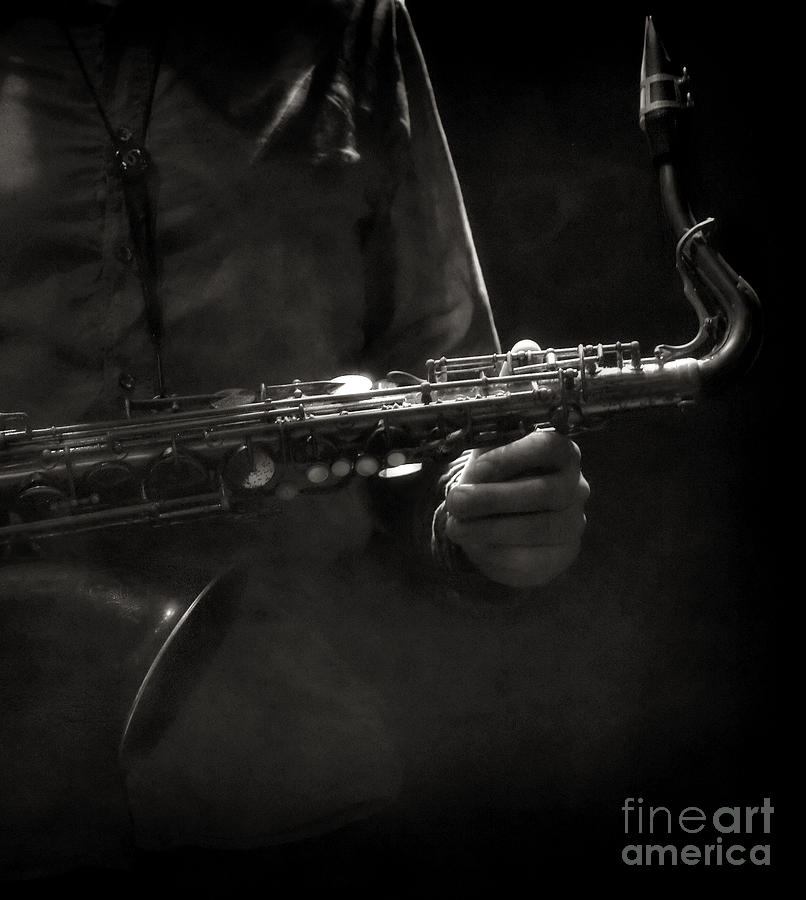Gare Du Nord Photograph - Hold On To Your Sax by Michel Verhoef